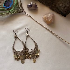 3 FOR $12 EARRINGS!! Gold chandelier earrings